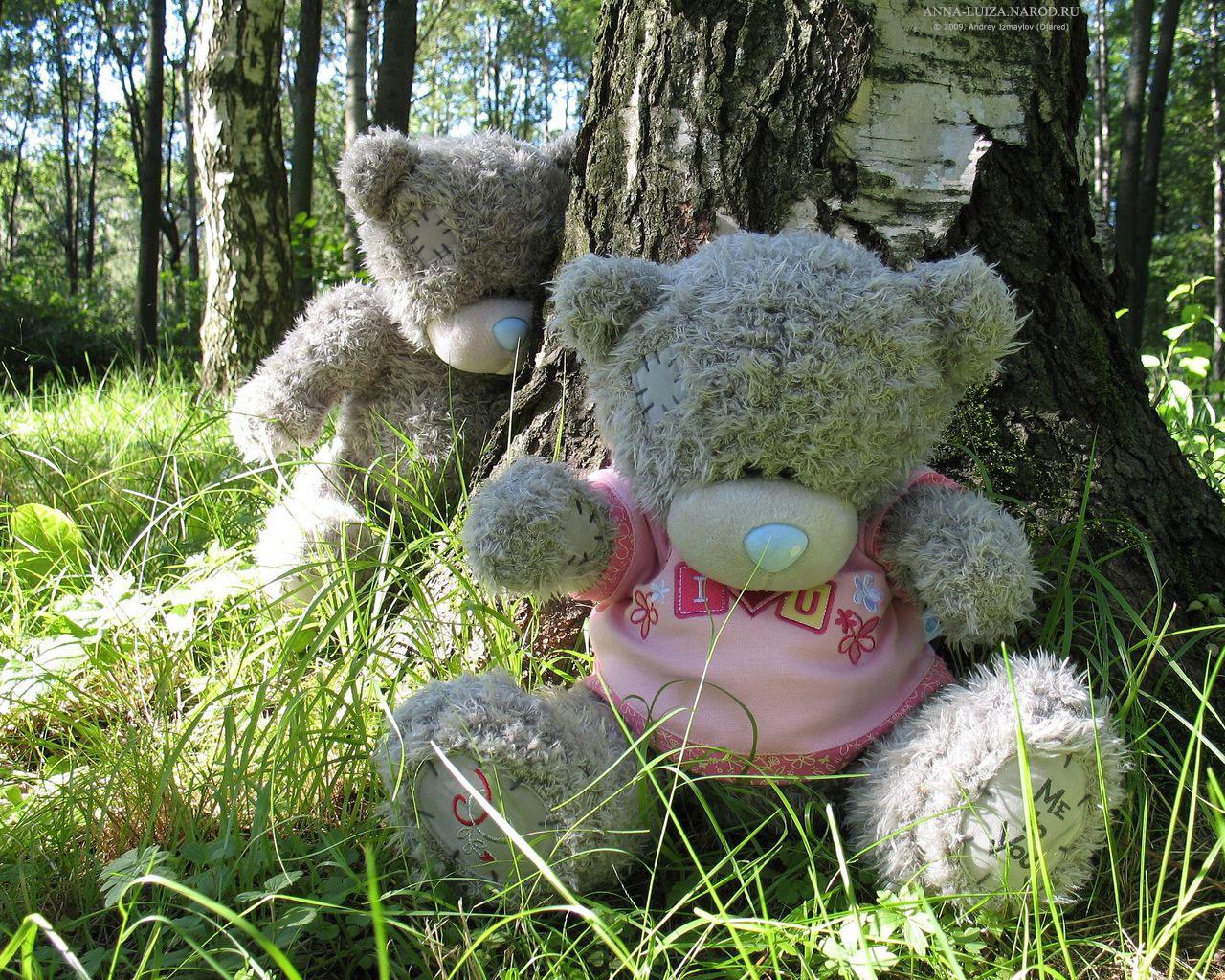 Мишки в лесу своими руками
