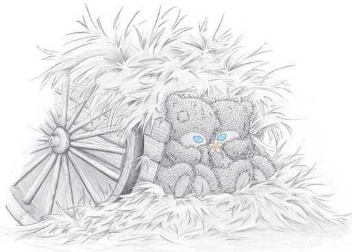 Рисунки - Teddy Bears.  Тема. doves.  Оцените фото (0 голосовало).
