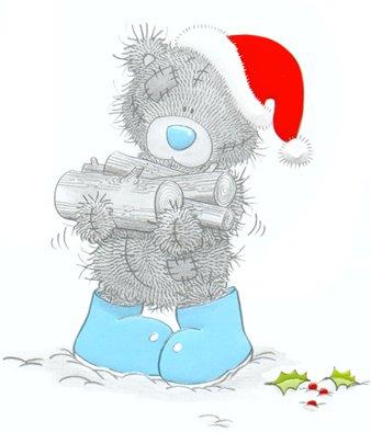 Картинка мишки новый год